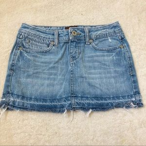 Aeropostale denim skirt size 1/2